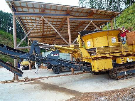 [D-6]:林地残材の運搬 見学 3