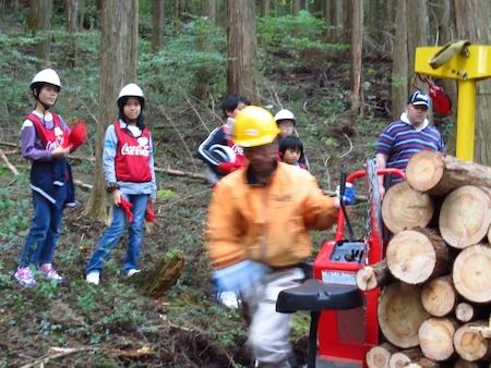 「森と遊ぼう」プロジェクト(コカコーラ) 071
